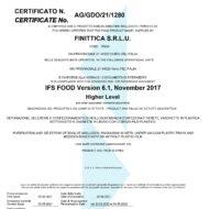 Finittica e la Certificazione IFS
